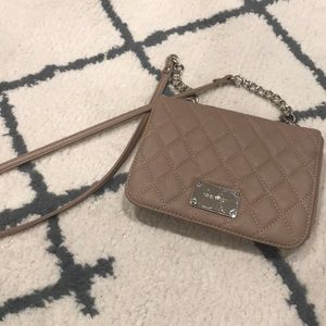 NUDE CROSSBODY NINE WEST